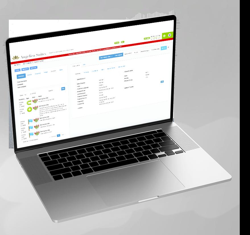 laptop with nomaidx hotel portal ticketing